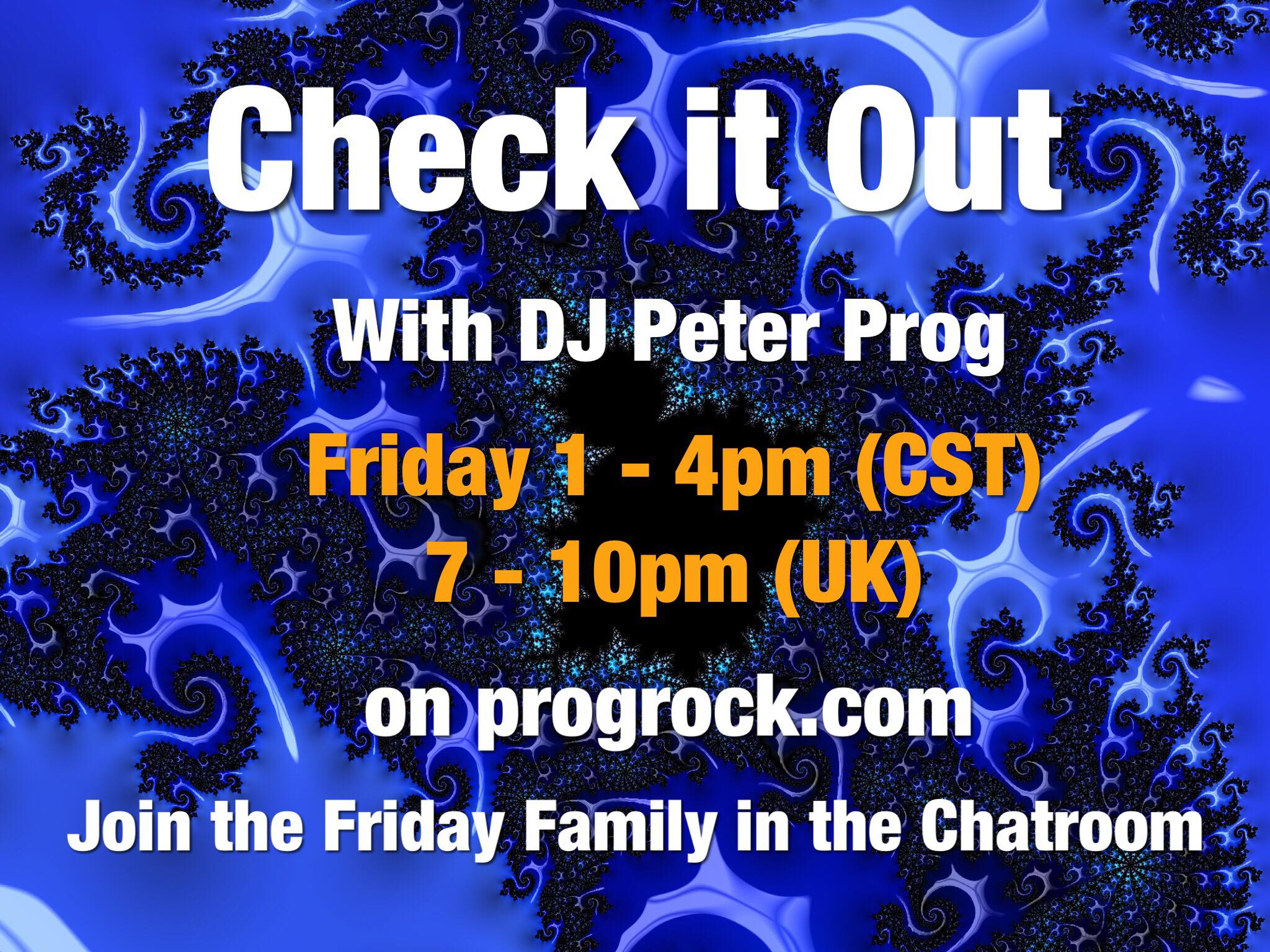 Check It Out hosted by DJ Peter Prog Friday 06 November 2020